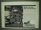 1967 Starcraft Constellation Camper Ad - High Rise