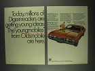 1967 Oldsmobile Cutlass S Holiday Coupe Car Ad