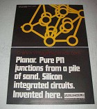 1967 Fairchild Semiconductor Ad - Planar PN Junctions