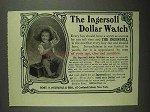 1903 Ingersoll Dollar Watch Ad