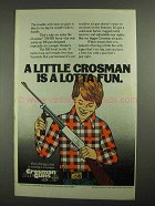 1979 Crosman 788 BB Scout Gun Ad - Lotta Fun