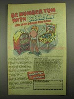 1979 Bubble Yum Gum Ad - Be Number Yum With