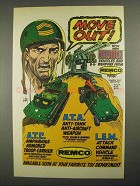 1983 Remco Sgt. Rock Vehicles and Weapons Ad - Move Out