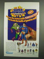 1984 Kenner Super Powers Collection Toy Ad -Superman