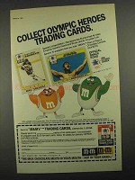 1984 M&M's Candy Ad - Olympic Heroes Cards