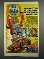 1985 Monogram GoBots Motorized Model Kits Ad