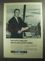 1968 Indiana Department of Commerce Ad - Flying Start