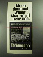 1968 Tennessee Development Ad - More Dammed Water