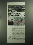 1968 Greater Cincinnati Chamber of Commerce Ad