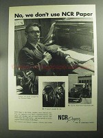 1968 NCR Paper Ad - No, We Don't Use NCR Paper