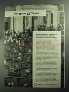 1968 The Bureau of National Affairs Ad - Congress