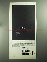 1968 Heart Fund Ad - Whistling in the Dark