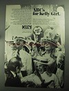 1968 Kelly Services Ad - ABC's for Kelly Girl