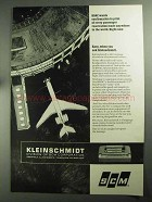1968 SCM Kleinschmidt 311 Data Printer Ad - BOAC Wants