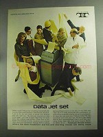 1968 Teletype Equipment Ad - Data Jet Set