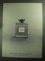 1968 Chanel No. 5 Perfume Ad - Every Woman Loves