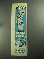 1968 Aqua Velva After Shave Ad - Get With Ice Blue