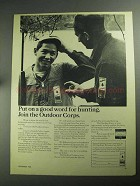 1968 National Shooting Sports Foundation Ad - Good Word