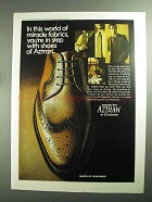 1968 B.F. Goodrich Aztran Shoes Ad - Miracle Fabrics