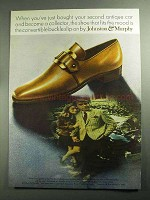 1968 Johnston & Murphy Convertible Buckle Shoe Ad