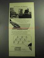 1968 The Mitre Corporation Ad - 97 Projects No Waiting