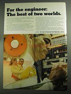 1968 LTV Electrosystems Inc Ad - Best of Two Worlds