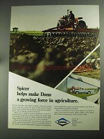 1968 Dana Corporation Ad - Spicer Force in Agriculture