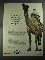 1968 Dana Corporation Ad - Few Means of Transportation