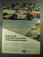 1968 Dana Corporation Ad - Perfect Circle Out Front