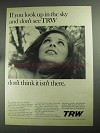 1968 TRW Inc. Ad - If You Look Up in The Sky