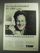 1968 TRW Inc. Ad - Joe Garrity Just Parked 184 Parts