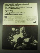 1968 Avco Corporation Ad - Paul Rever Life Insurance