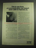 1968 ITT Telephone Ad - One Form of Communication