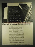 1968 Ohio Edison Ad - What Good is The Space Age?