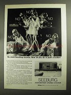 1968 Seeburg Audiomation Stereo System Ad - No Handling