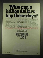 1968 AEP American Electric Power System Ad - A Billion
