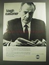 1968 Collins Flight Director System Ad - Tough Customer