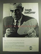 1968 Collins Satellite Ground Station Ad - Tough