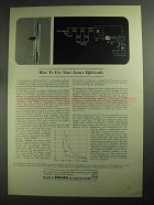 1968 Philips Research Laboratories Ad - Use Losses