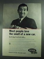 1968 National Car Rental Ad - Most People Love