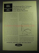 1968 Ford Research Laboratories Ad - Discharge-Flow