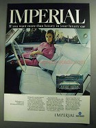 1968 Chrysler Imperial Crown Four-Door Hardtop Ad