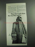 1968 Bering Cigars Ad - Don't Make Them The Way Used To