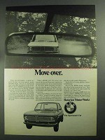 1968 BMW Car Ad - Move Over