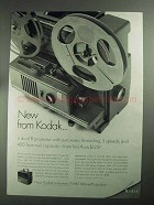 1968 Kodak Instamatic M67 Movie Projector Ad