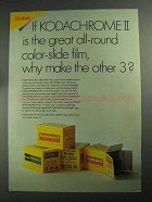 1968 Kodak Color Slide Film Ad - Great All-Round Film
