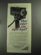 1968 Kodak Instamatic M9 Movie Camera Ad - How Super?