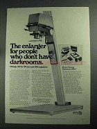 1968 Omega A3 Enlarger Ad - People Don't Have Darkrooms