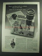 1968 Yashica Lenses Ad - Nothing Harder to Compute