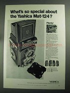1968 Yashica Mat-124 Camera Ad - What's So Special?